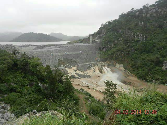 Tokwe Mukosi dam wall breached