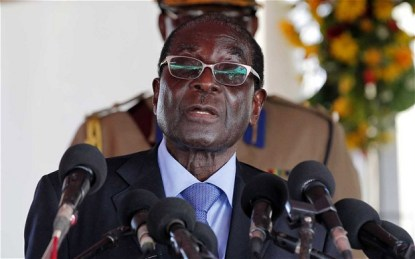 Mugabe backs MDC rebels