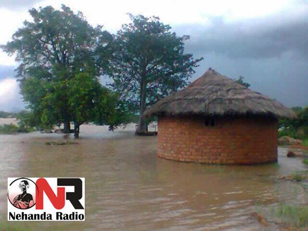 Some of the homes around Tokwe Mukosi