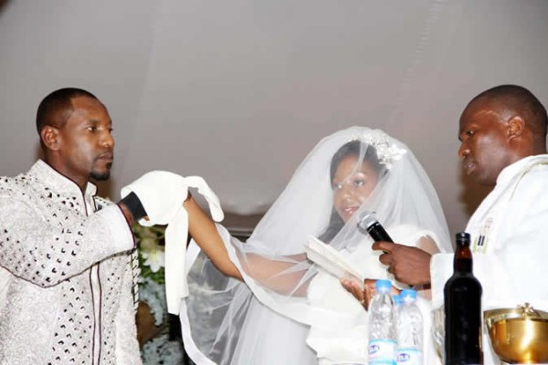 Simba Chikore and Bona Mugabe wedding