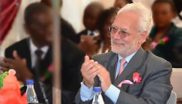 EU's ambassador to Zimbabwe, Aldo Dell'Ariccia