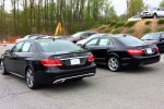 In February the government bought Mercedes Benz E350 sedans