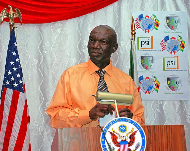 FUZ secretary-general Paul Gundani