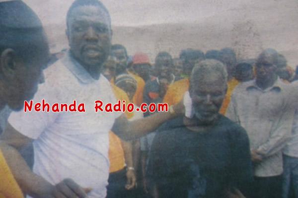 Prophet Magaya heals blind man in Tokwe Mukosi