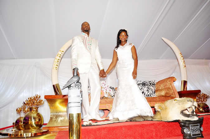 Bona Mugabe wedding