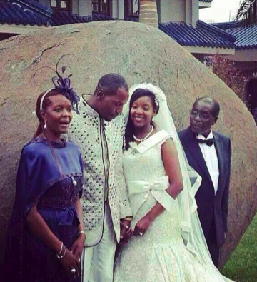 Bona Mugabe's lavish wedding