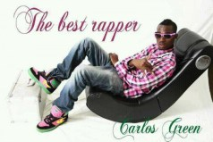Outspoken rapper Carlos Green