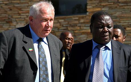 Roy Bennett seen here with Morgan Tsvangirai