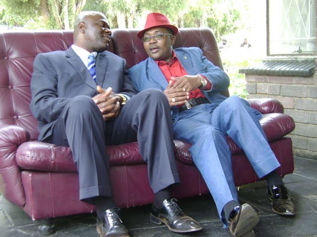 Arthur Mutambara with Walter Mzembi
