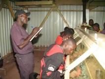 Diamond sorting in Zimbabwe