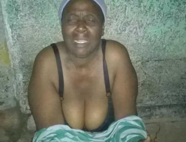 Ellen Khayiya Mpofu who was caught trespassing while half naked at a Mpopoma house