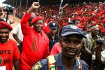 Julius Malema leads the EFF
