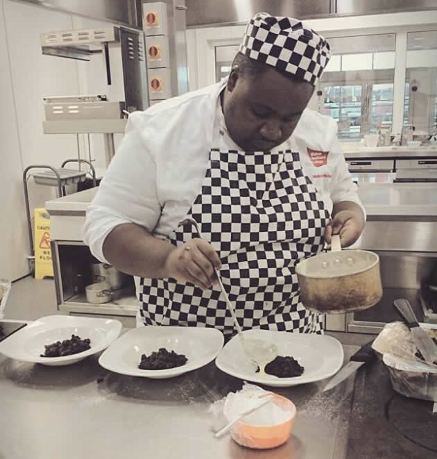Melusi Mathema is currently studying a VRQ Diploma Level 3 in Advanced Professional Cookery course and he was due to sit for his exams after the Easter break
