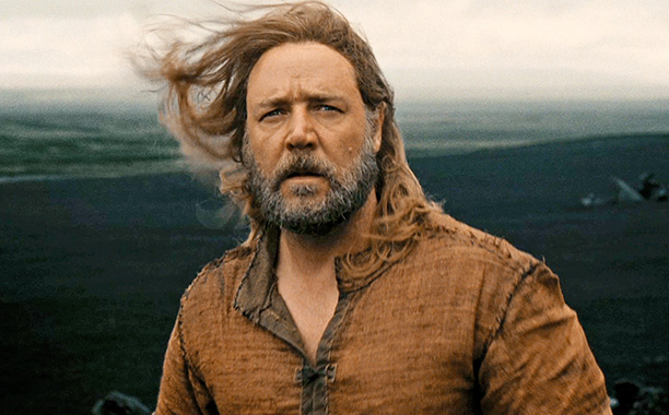 Noah starring Russell Crowe, Ray Winston, Emma Watson and Anthony Hopkins