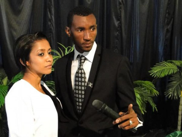 Prophet Passion Java and his wife Yasmin