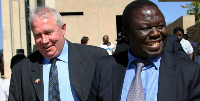 Roy Bennett with Morgan Tsvangirai
