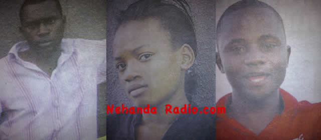 Spencer Ngwerume, Jennifer Mavhimira and Abel Chirenje