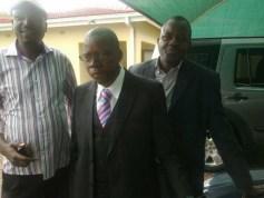 Rebel held territory: Tendai Biti in Milton Park, Harare