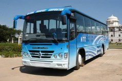 An Ashok Leyland bus
