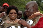 Vice President Joice Mujuru and her husband General Solomon Mujuru
