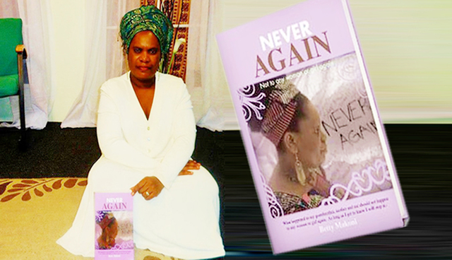 """Betty Makoni to host event celebrating """"Never Again"""" campaign"""