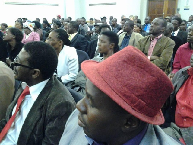 The suspensions were announced by Lobengula MP Samuel Sipepa Nkomo at the Mendel Training Centre in Malborough, 15km away from the MDC-T Harvest House headquarters.