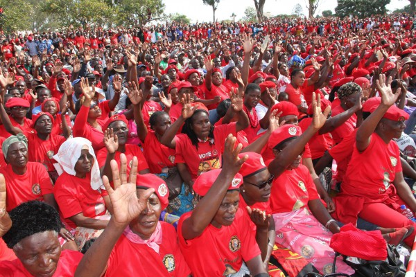 MDC-T 15th Anniversary celebrations at Mucheke Stadium on Sunday
