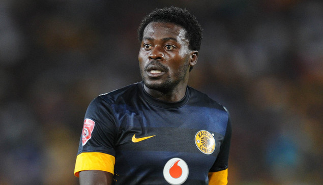 Kingston Nkhatha of Kaizer Chiefs during the Absa Premiership football match between Mamelodi Sundowns v Kaizer Chiefs at Loftus Stadium