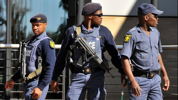 Police in South Africa