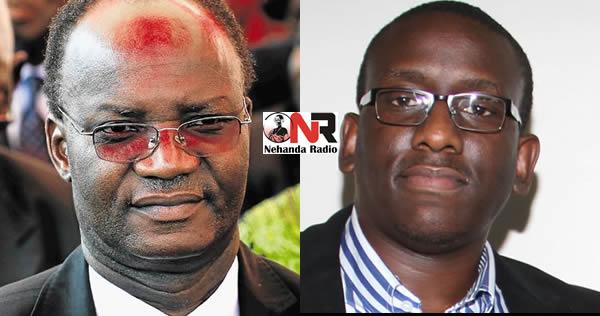 Jonathan Moyo and Edmund Kudzayi