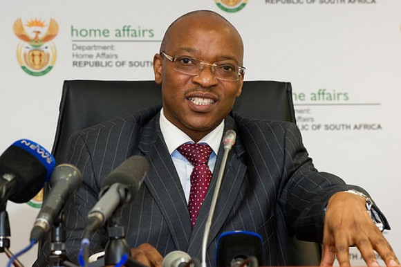 SA Home Affairs Director General Mkuseli Apleni
