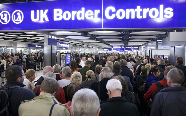 UK immigration and border control