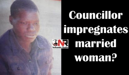 Councillor impregnates married woman?