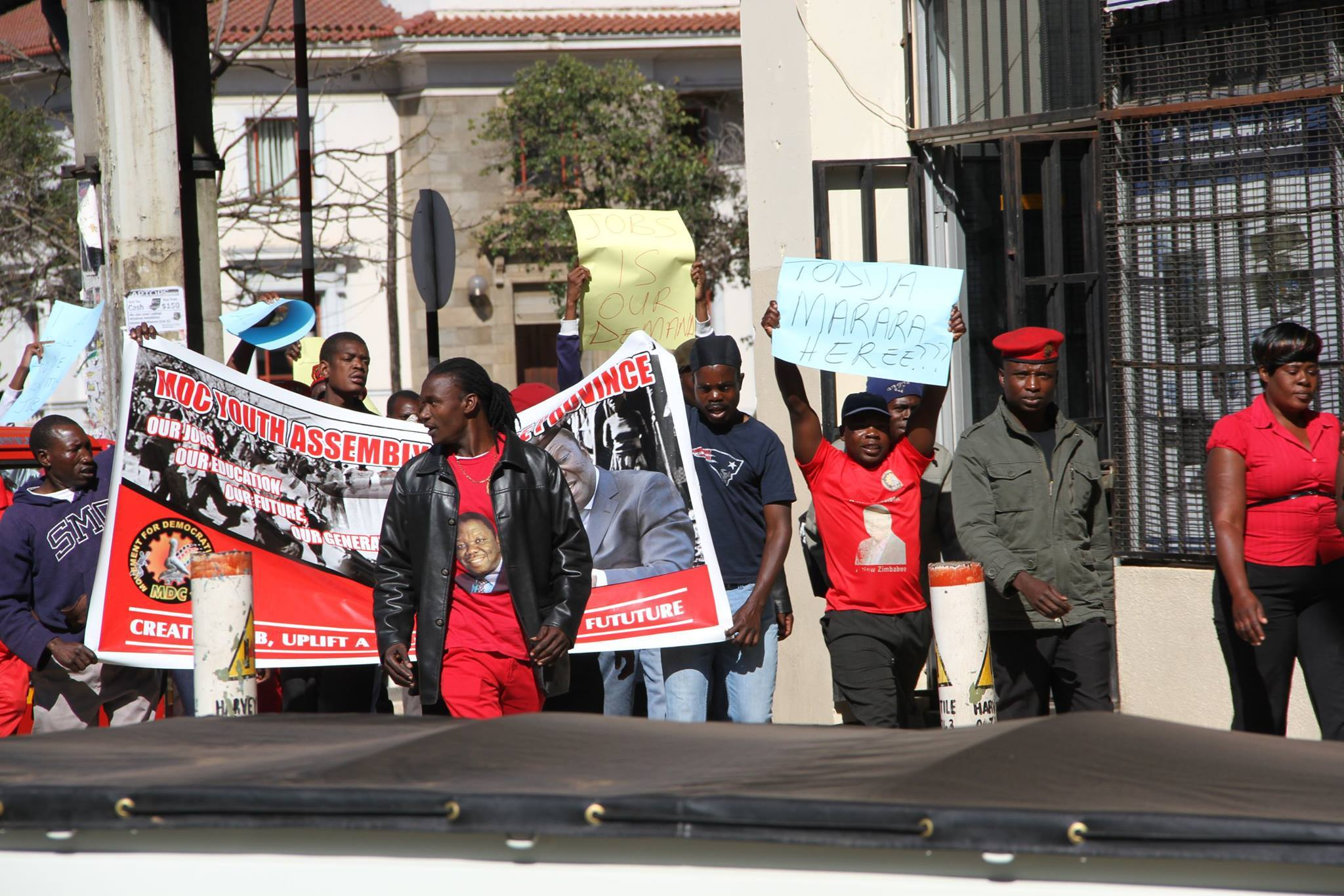 Mdc t youths arrested during june 16 march nehanda radio