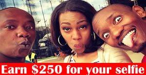 Earn $250 for your selfie