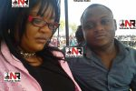 Maidei Mujuru with her toy-boy Bright Misihairabwi (24) from Glen Norah