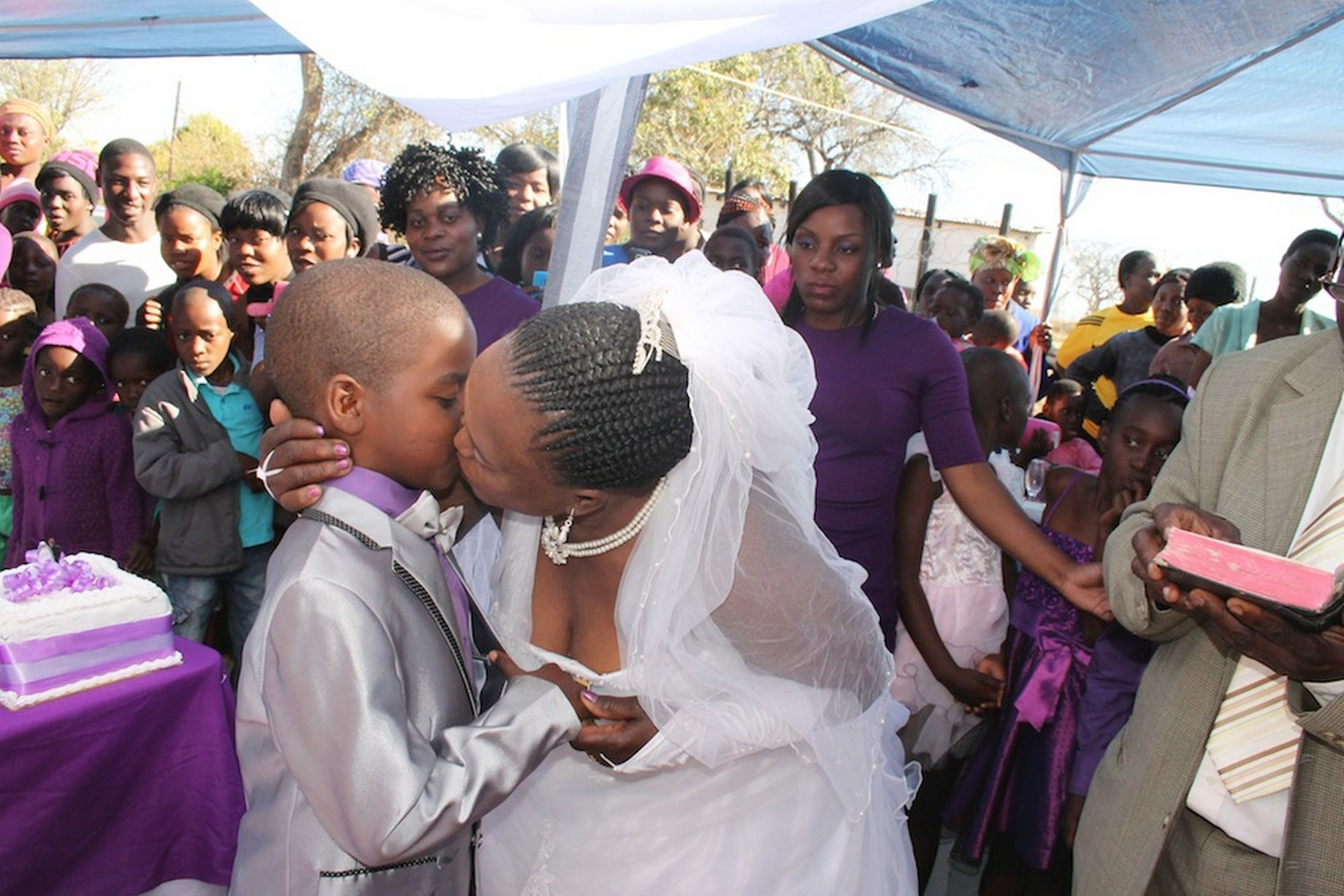 South African Schoolboy Aged Nine Marries 62-Year-Old Woman - For Second Time -6633