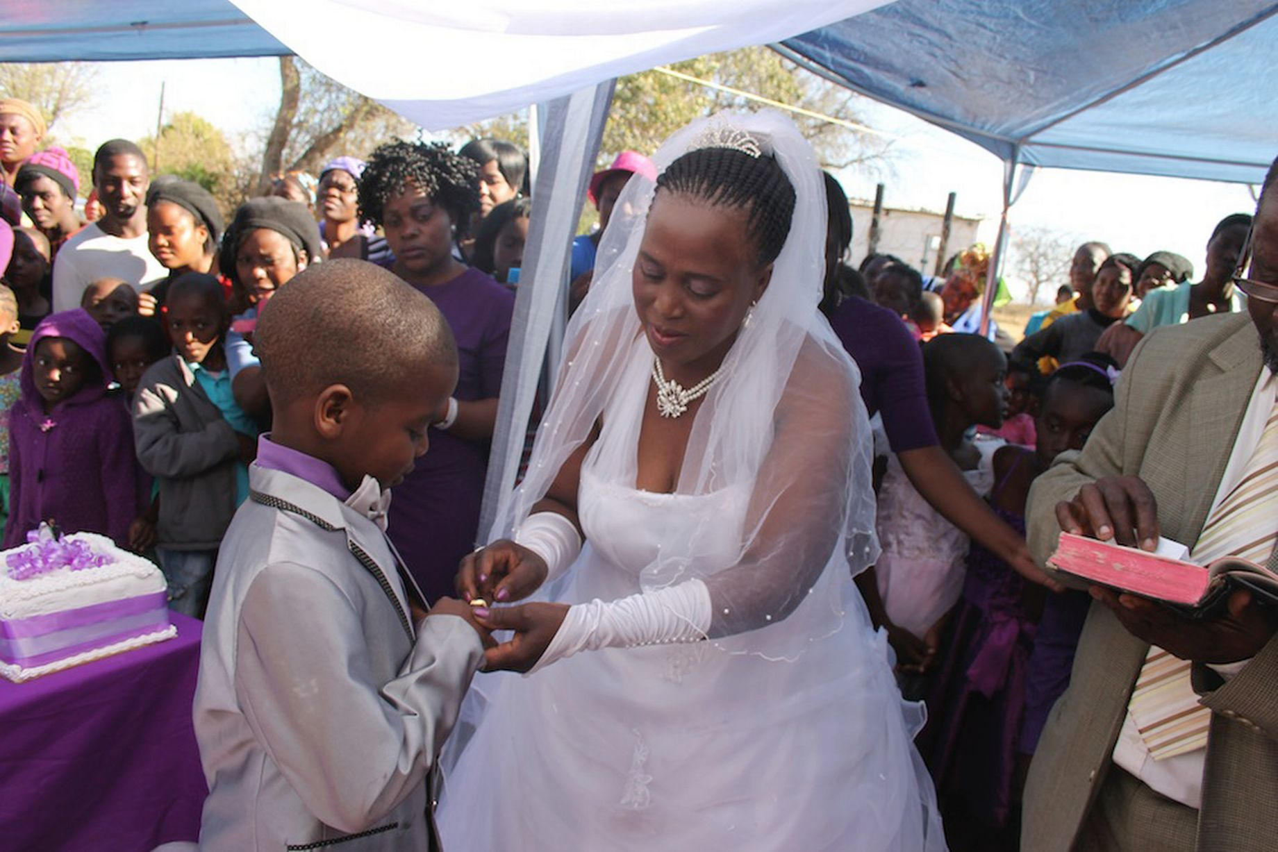 South African Schoolboy Aged Nine Marries 62-Year-Old -2826