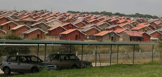 Cosmo City in Johannesburg