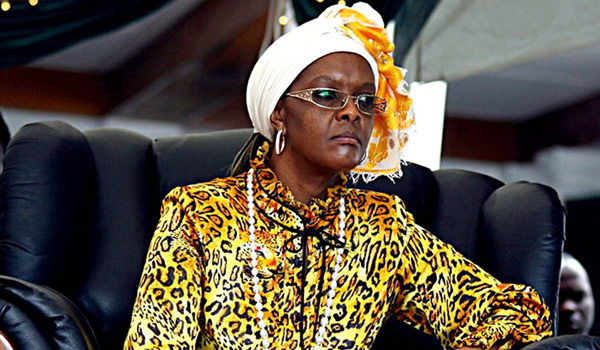 Grace Mugabe to study for doctorate