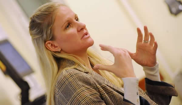Olympic gold medalist Kirsty Coventry