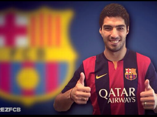 Pastures Nou: Suarez's three-year stay in English football is over