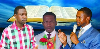 Prophets Walter Magaya, Uebert Angel and Emmanuel Makandiwa