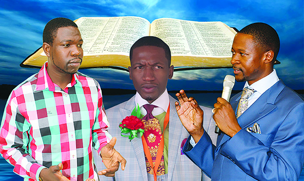 Prophets Walter Magaya, Uebert Angel and Emmanuel Makandiwa