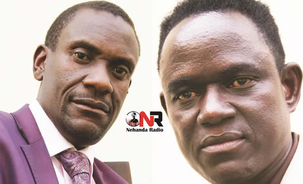 Zanu PF MP's Owen Ncube and Masango Matambanadzo