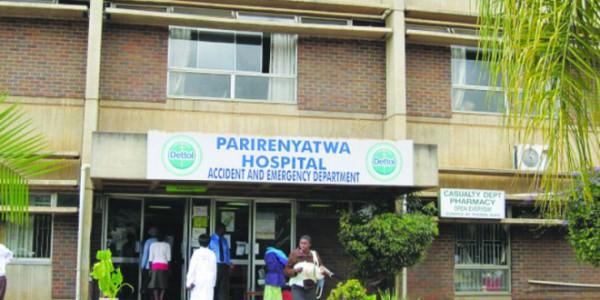 Parirenyatwa Hospital in Harare