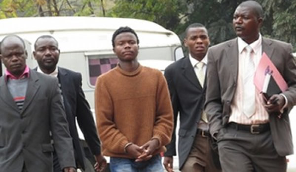 Romeo Tanyaradzwa Musemburi being taken to court