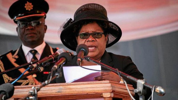 Knives out for Joice Mujuru