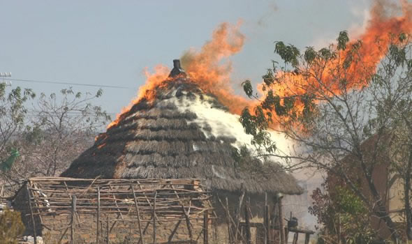 Sangoma in court for for torching goblins' house