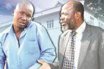 Zanu PF's Joseph Chinotimba (right) and MDC-T's Prince Dubeko Sibanda (left) came close to exchanging blows.